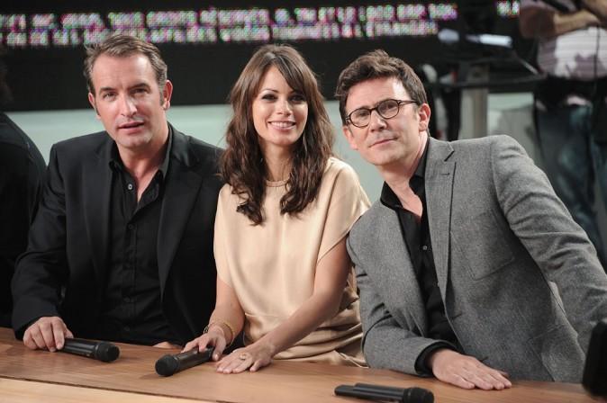 Avec l'équipe du film The Artist