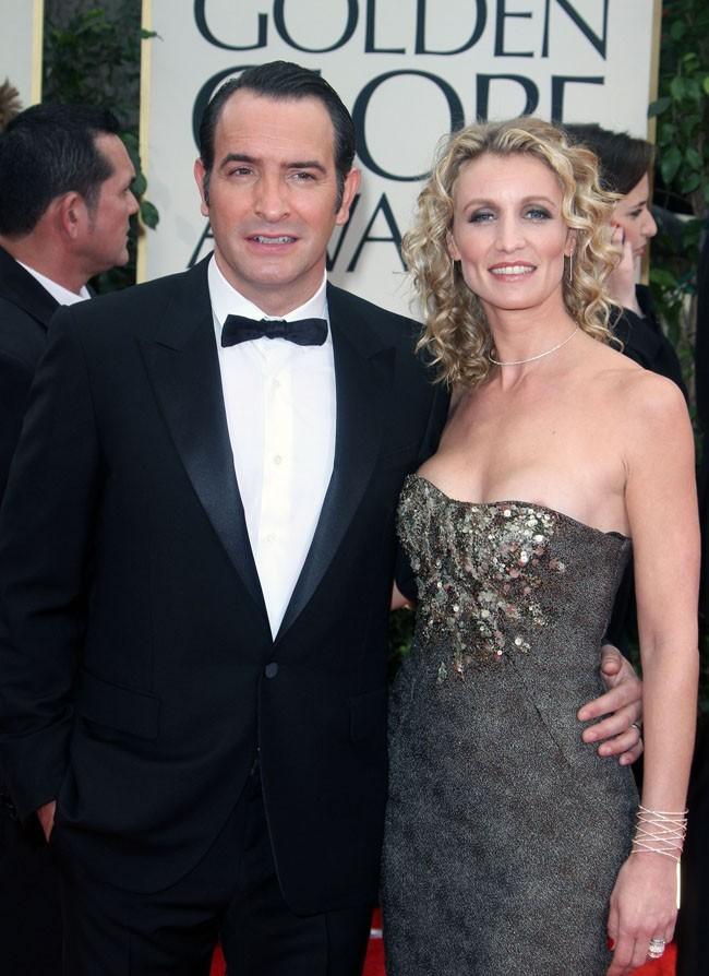 ...elle était bien sûr à ses côtés pour les Golden Globes !