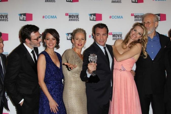 Un trophée partagé aux derniers Critic's Choice Awards