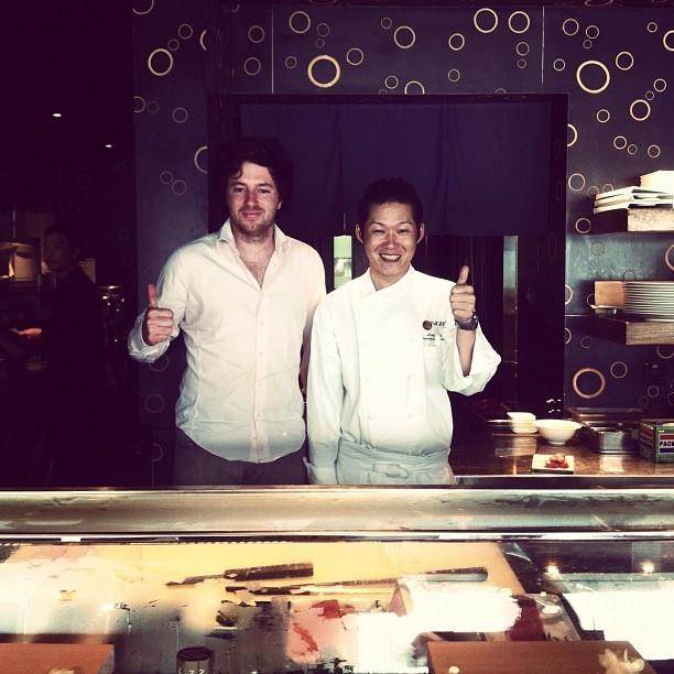 2h de leçon de sushi avec le chef de Nobu à Hong Kong