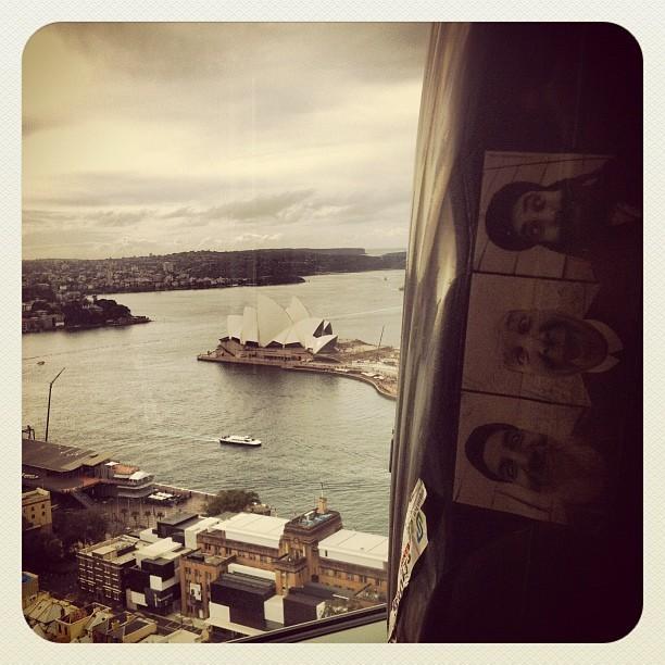 Bien arrivé à Sydney