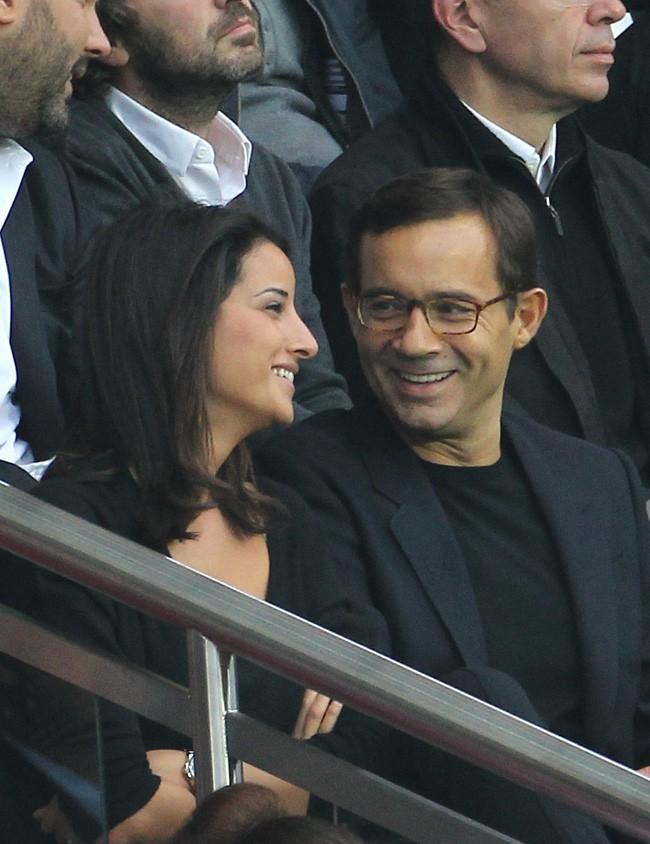 Jean-Luc Delarue et Anissa Khel en septembre 2011