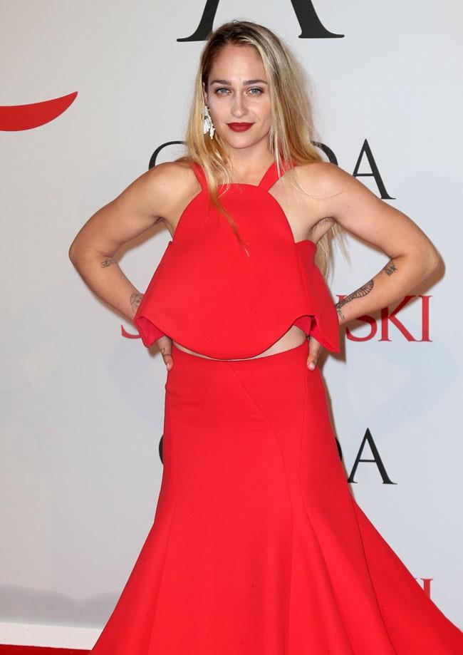 Jemima Kirke à la soirée des CFDA Fashion Awards organisée à New-York le 1er juin 2015