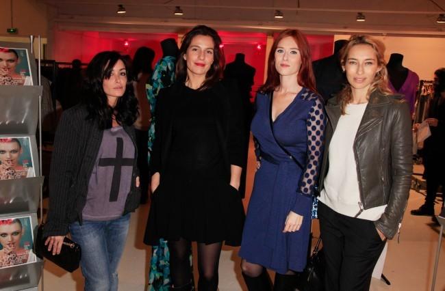 Jenifer Bartoli, Zoe Felix, Audrey Fleurot et Alexandra Golovanoff le 19 novembre 2012 à Paris