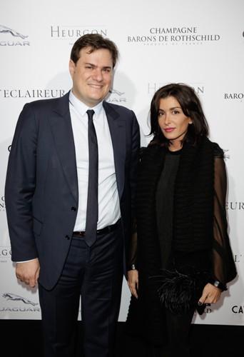 Benjamin Cymerman et Jenifer à Paris le 14 novembre 2013