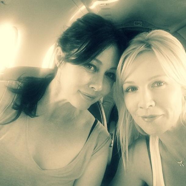 Jennie Garth et Shannen Doherty : ce qui se passe à Vegas ne reste pas à Vegas !