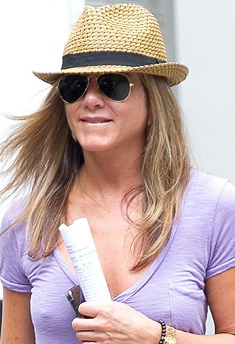 Jennifer Aniston à New-York le 23 juillet 2013