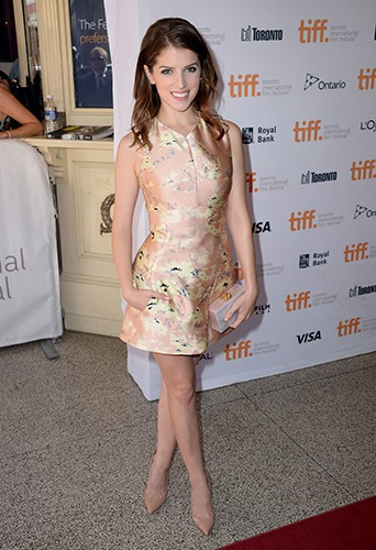 Anna Kendrick à Toronto le 8 septembre 2014