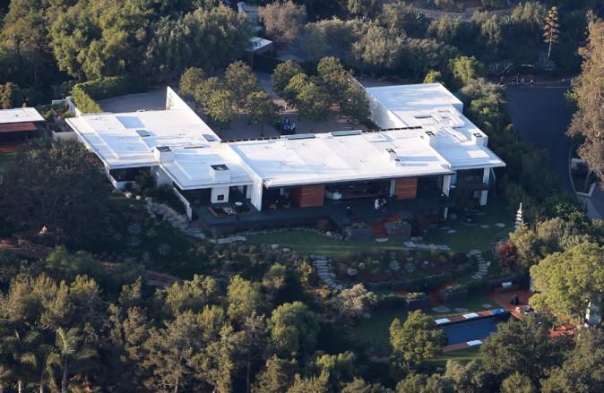 La villa de Justin Theroux à Bel Air !