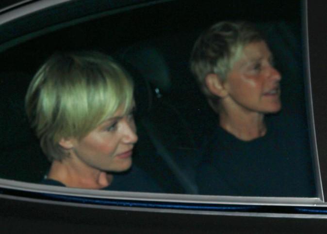 Portia de Rossi et Ellen Degeneres !
