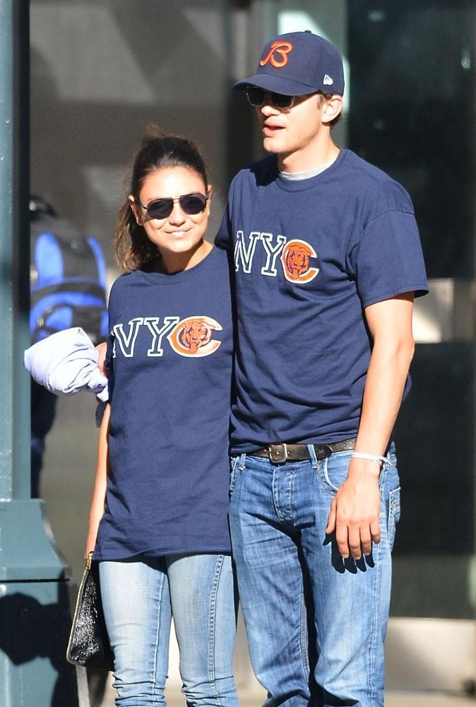Le couple Mila Kunis/Ashton Kutcher : assorti ou pas ?