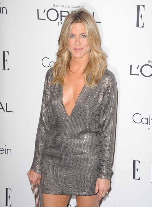 Jennifer Aniston hier pour les Elle's 18th Annual Women in Hollywood Tribute