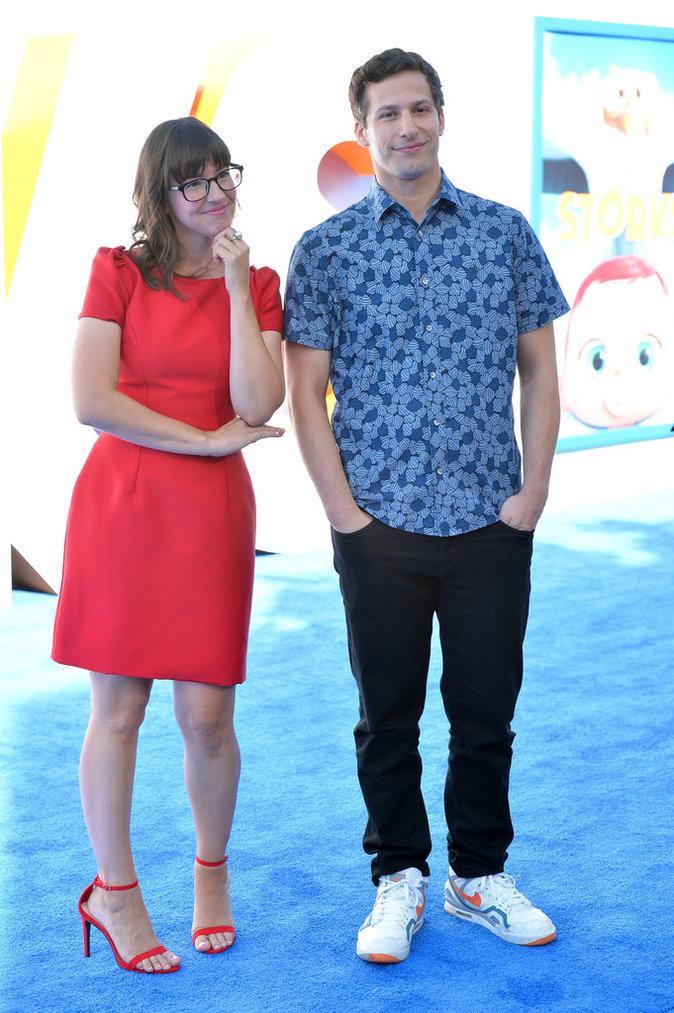 Katie Crown et Andy Samberg