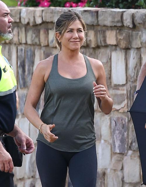 Photos : Jennifer Aniston : son booty d'enfer, elle l'entretient !