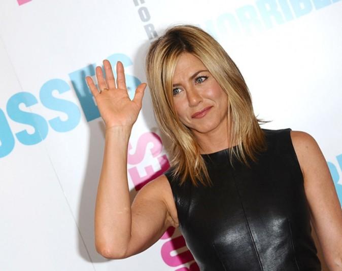 jennifer Aniston pour le photocall de Comment tuer son Boss ? à Londres