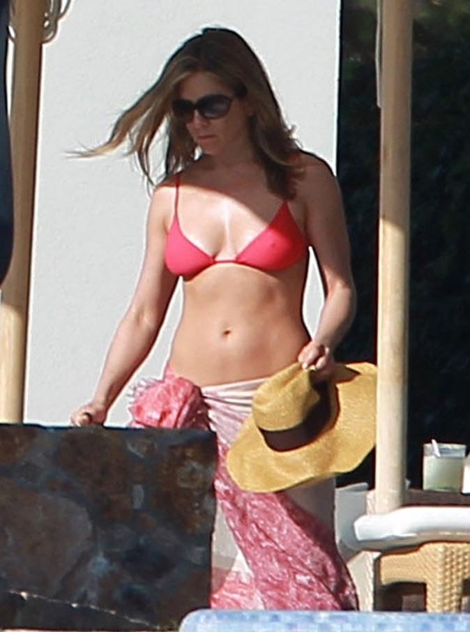 Jennifer Aniston et Justin Theroux, Cabo San Lucas, 24 décembre 2012.