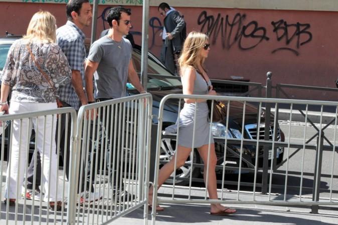 Jennifer Aniston visite le Vatican avec Justin Theroux le 15 juin 2012