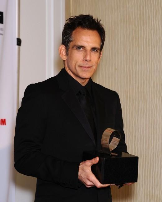 "Ben Stiller lors du gala ""American Cinematheque Award"" à Beverly Hills, le 15 novembre 2012."