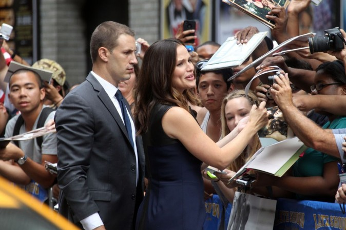 Jennifer Garner le 14 août à New York