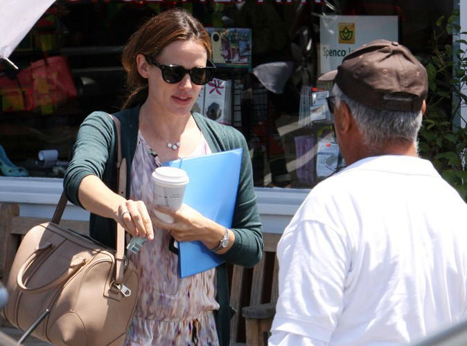 Jennifer Garner à Los Angeles le 7 août 2013