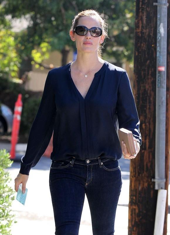 Jennifer Garner le 29 octobre 2012 à Brentwood