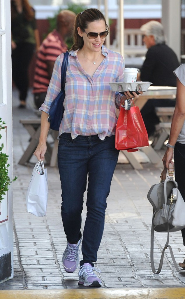 Jennifer Garner le 21 septembre 2012 à Los Angeles