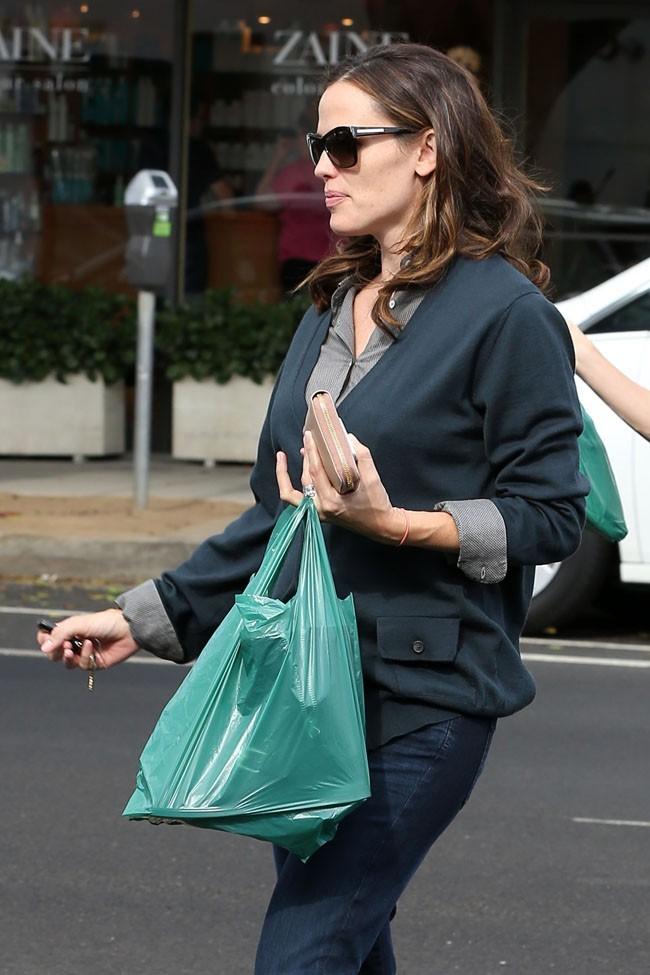 Jennifer Garner le 11 octobre 2012 à Los Angeles