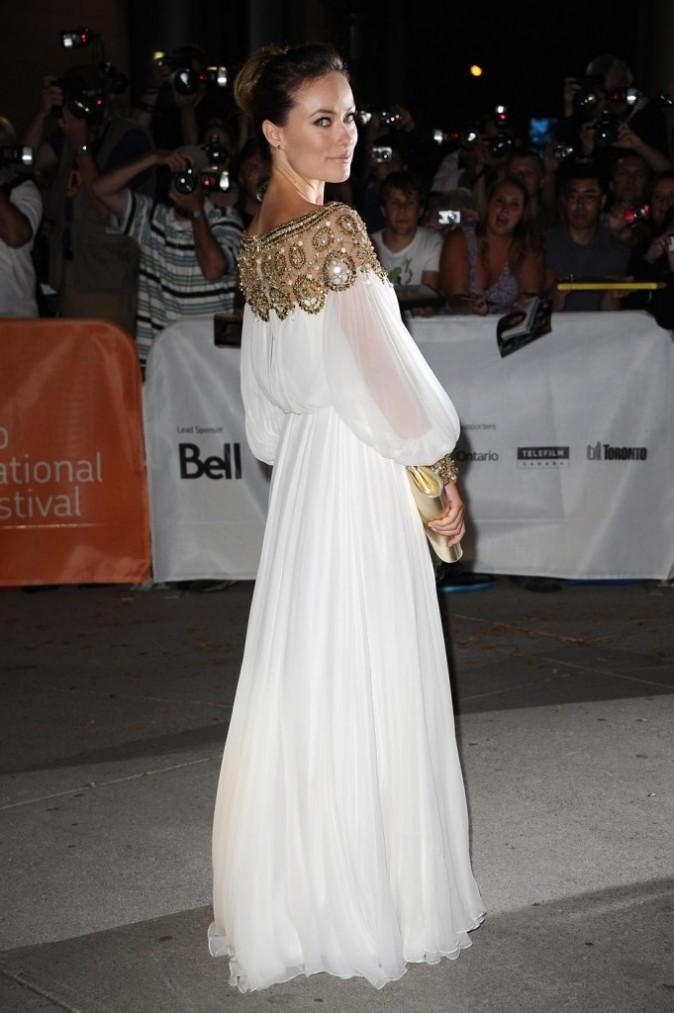 Olivia Wilde lors de la première du film Butter durant le Festival du Film de Toronto, le 13 septembre 2011.
