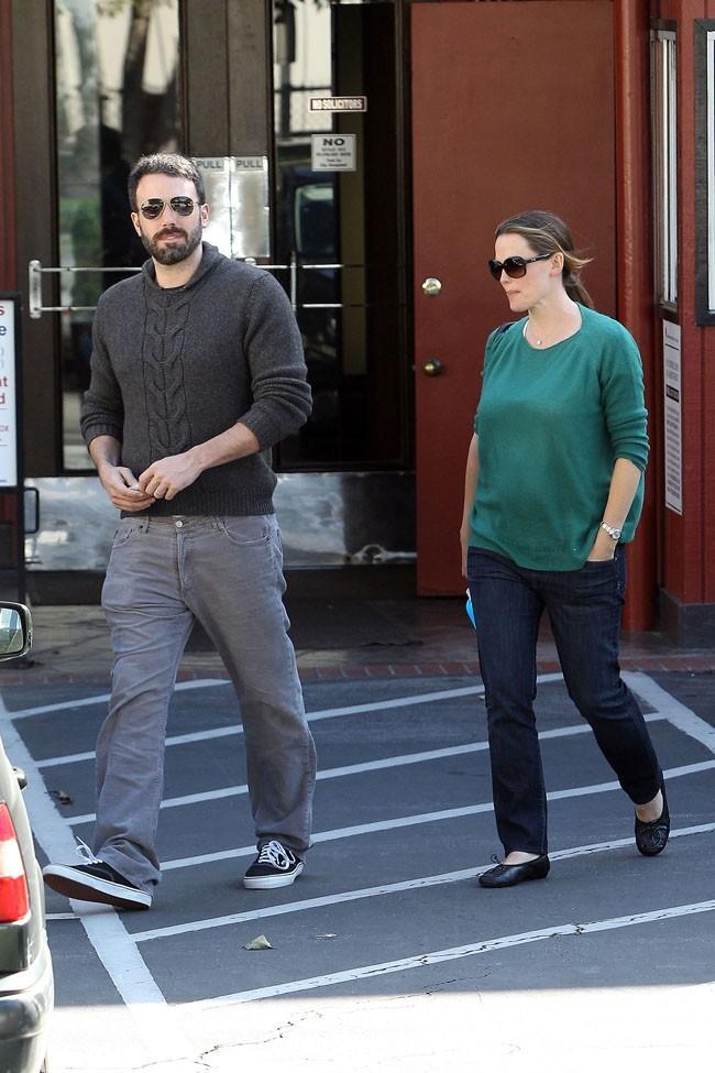 Jennifer Garner et Ben Affleck le 3 mai 2012 à Los Angeles