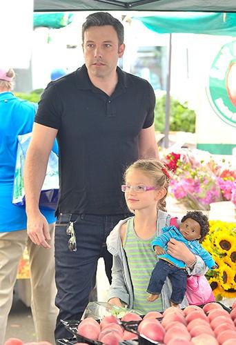 Jennifer Garner et sa tribu à Los Angeles le 11 août 2013