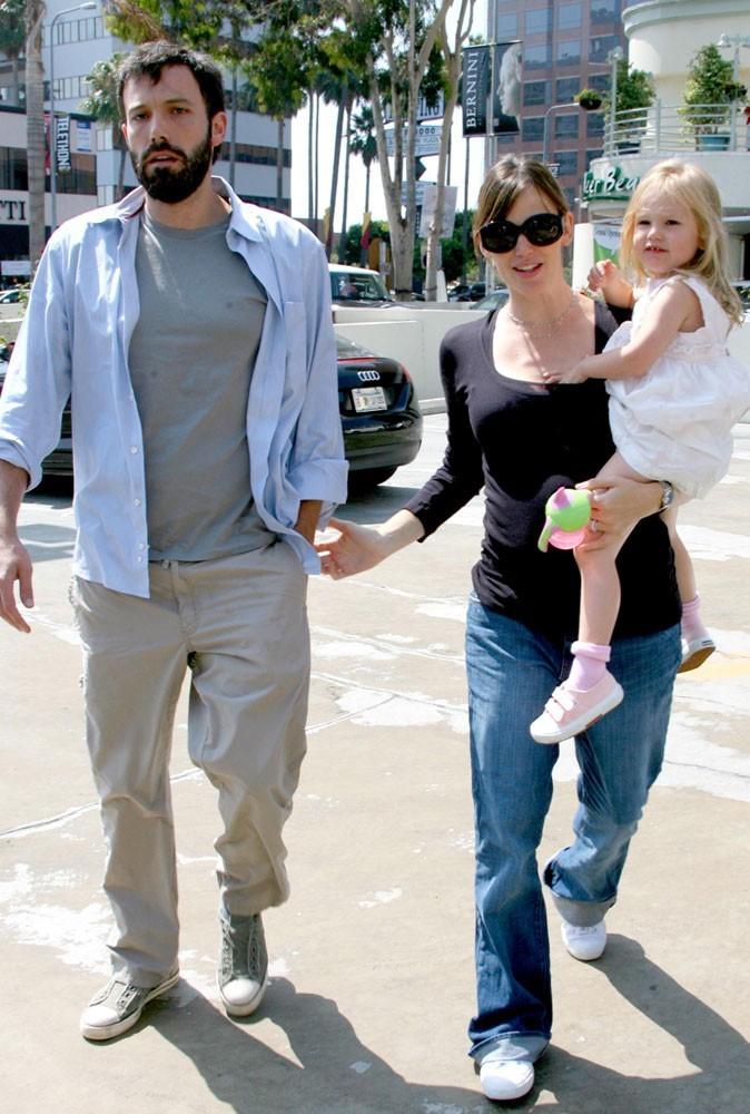 Photos : Ben, Jen et Violet en 2008