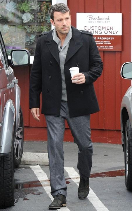 Ben Affleck à Brentwood le 12 septembre 2012