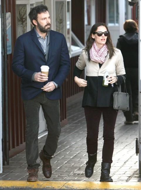 Jennifer Garner et Ben Affleck, Brentwood, 7 février 2013.