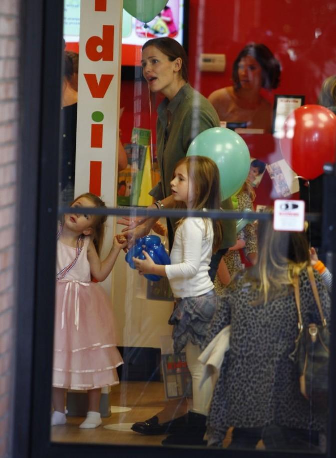 Jennifer Garner lors de la fête d'anniversaire de sa fille Seraphina à Los Angeles, le 6 janvier 2013.