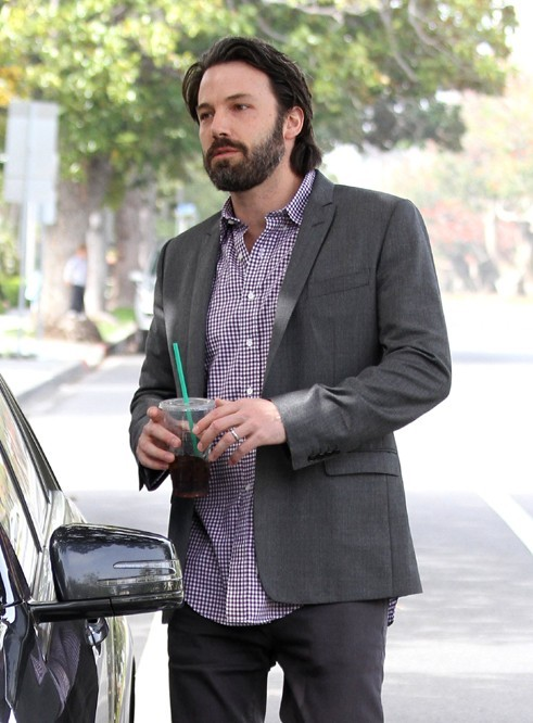 Ben a toujours sa maxi-barbe !