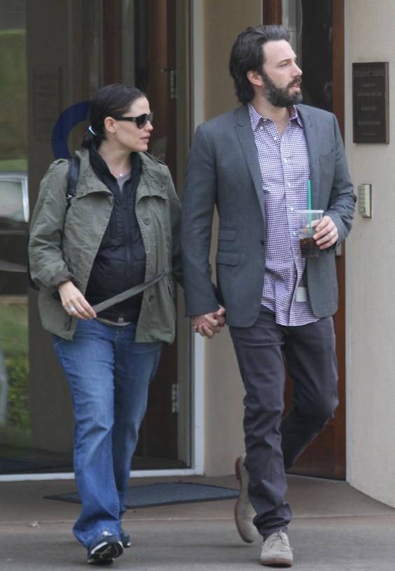Jennifer Garner et Ben Affleck main dans la main vendredi 30 mars