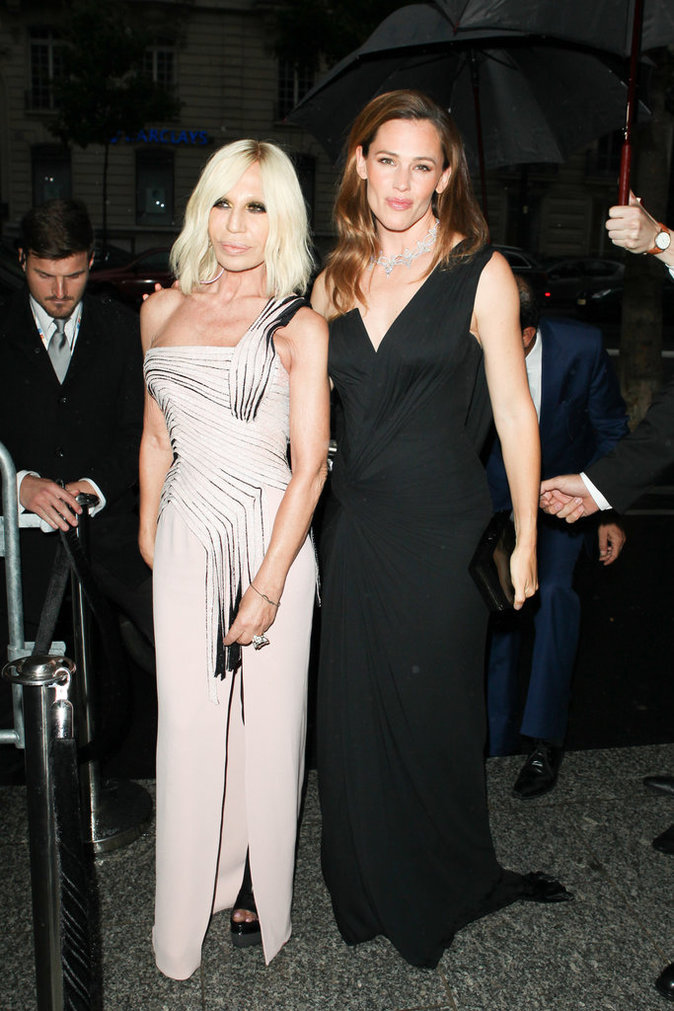 Jennifer Garner et Donatella Versace sont sublimes