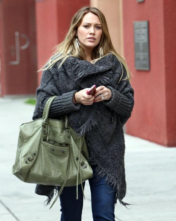 Hilary Duff, enceinte en 2011 de son premier enfant