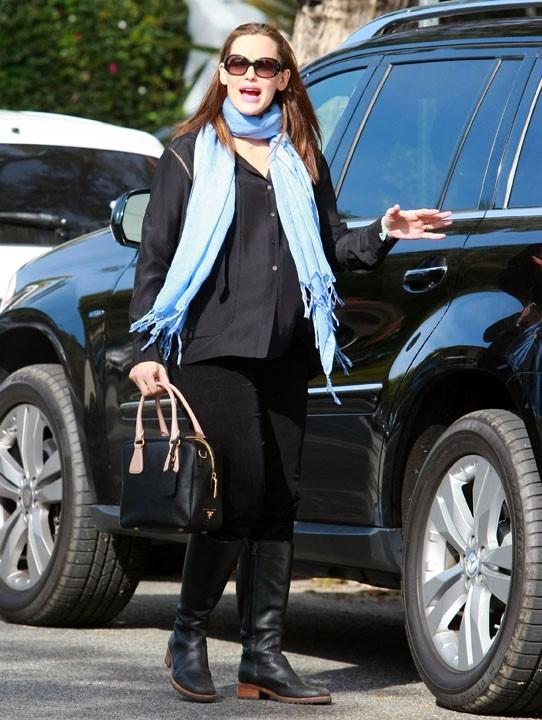 La 2ème voiture de Jennifer Garner pour les sorties en famille