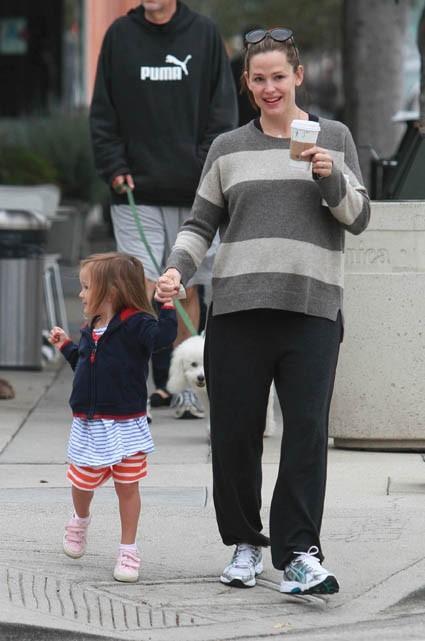 Jen et sa fille sont allées chercher un bon café !