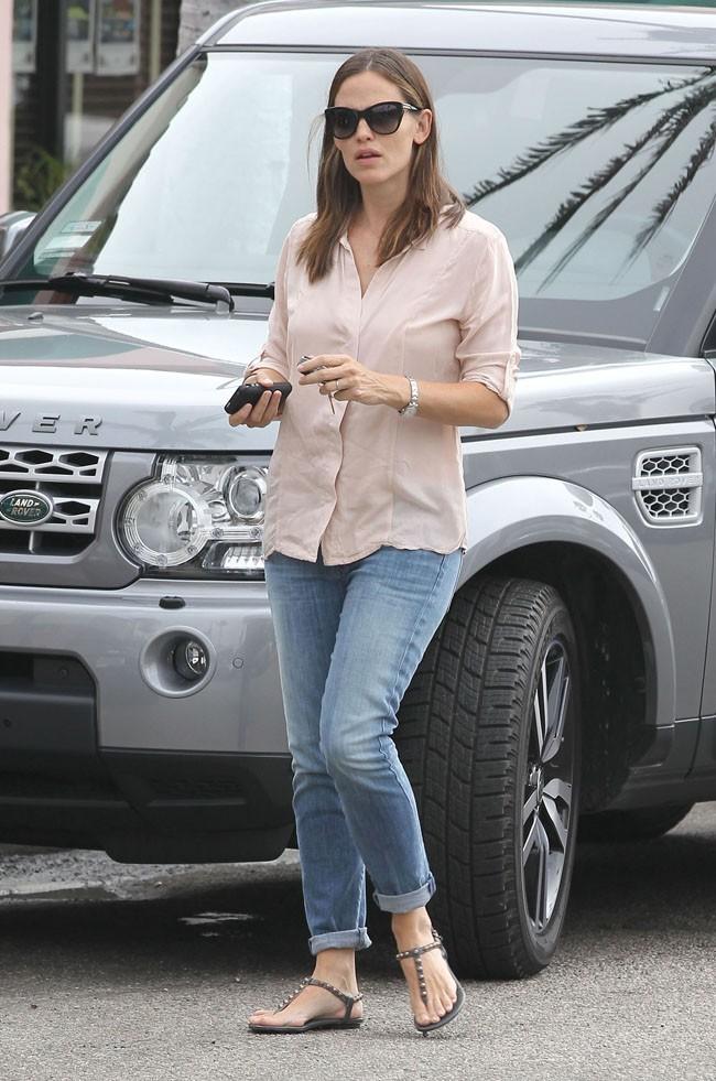 Jennifer Garner le 1er août 2012 à West Hollywood