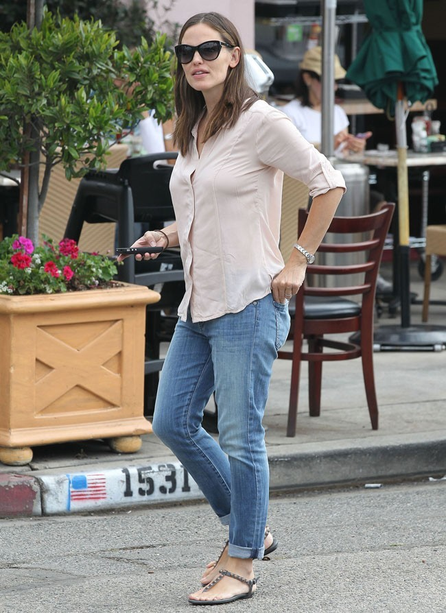 Jennifer Garner le 1er août 2012 à West Hollywood