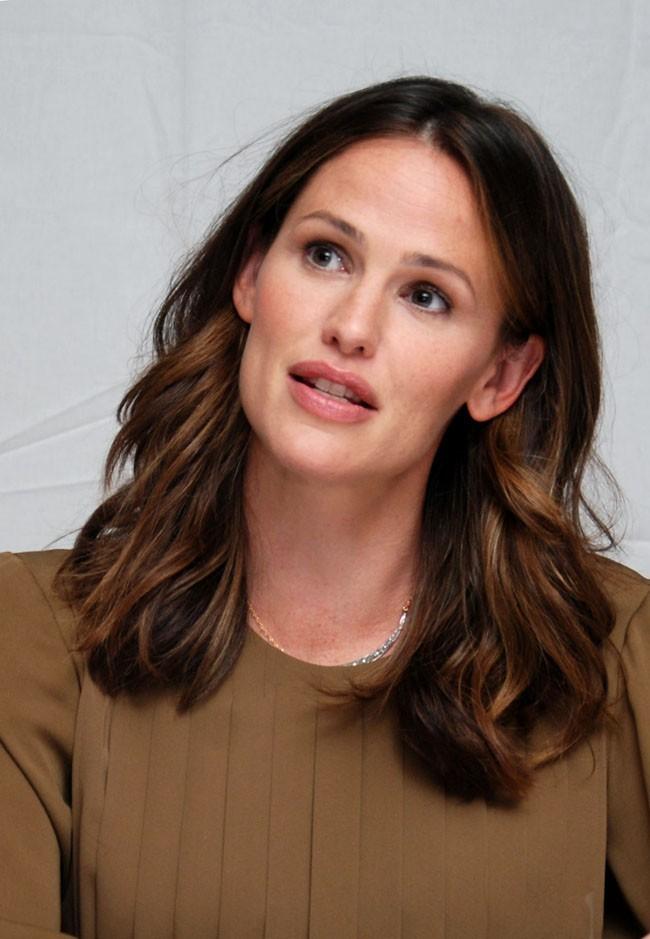 Jennifer Garner en conférence de presse le 4 août 2012 à Los Angeles