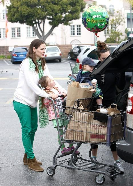 Jennifer Garner le 17 mars 2013 à Brentwood