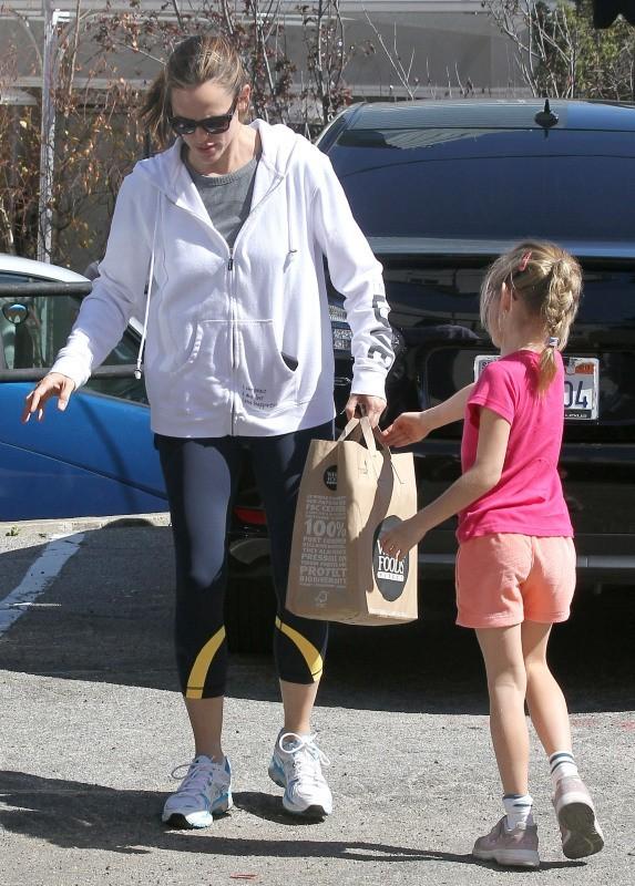 Jennifer Garner et Violet le 3 mars 2013 à Santa Monica
