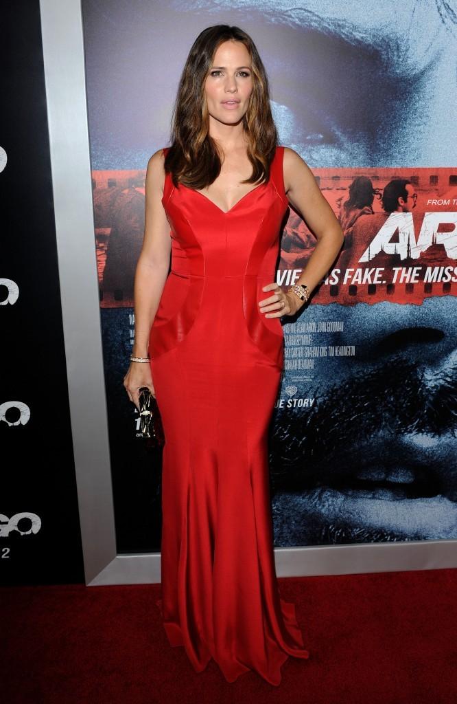 Jennifer Garner lors de la première du film Argo, le 4 octobre 2012.
