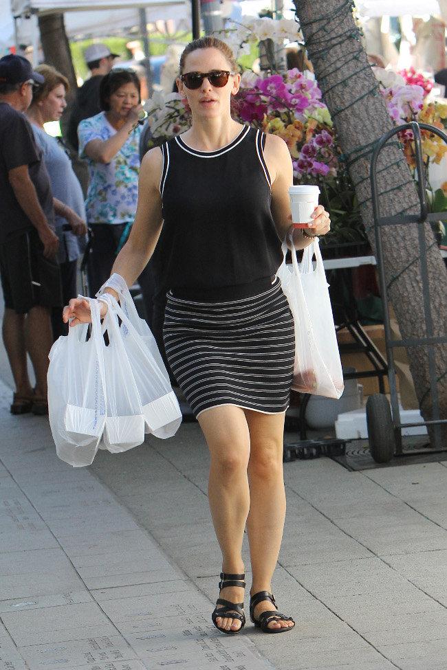Jennifer Garner à Los Angeles le 1er novembre 2015