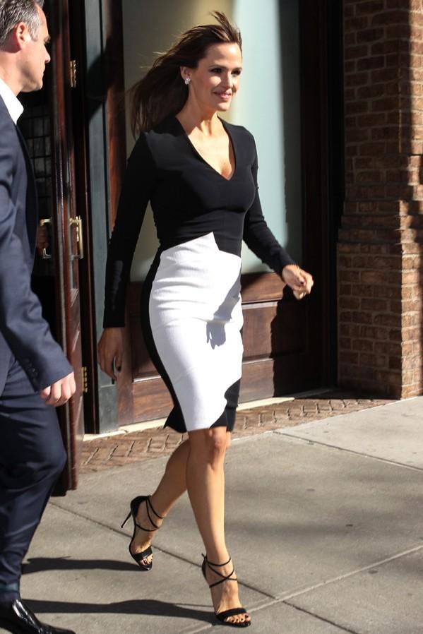 Jennifer Garner à New-York le 17 mars 2015