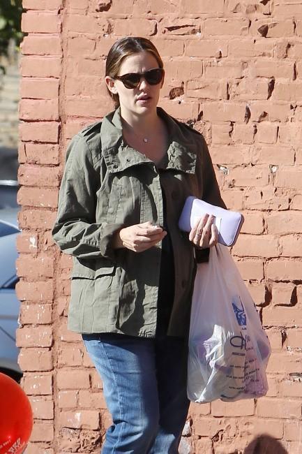 Jennifer Garner à Brentwood, le 3 avril 2012.