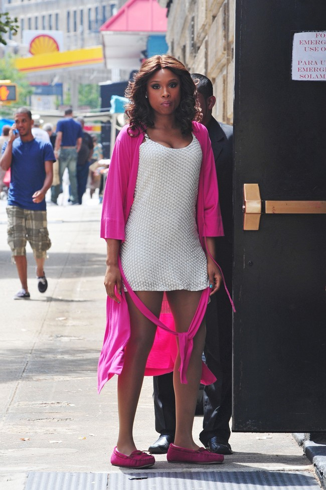 Jennifer Hudson le 21 août 2012 à New York